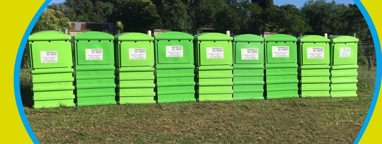 Baños químicos venta y alquiler en Zona Norte Buenos Aires